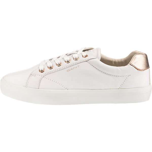 Sneakers weiß GANT Low Mary gold vYq5nFTnW
