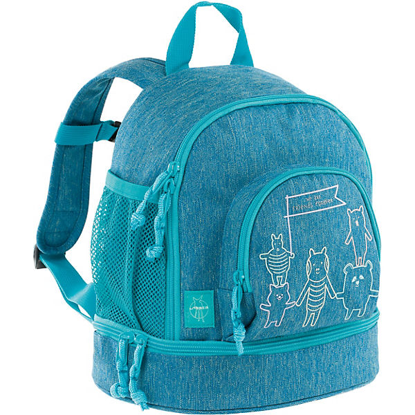 Kindergarten-Rucksack 4Kids, Mini Backpack, About Friends blau