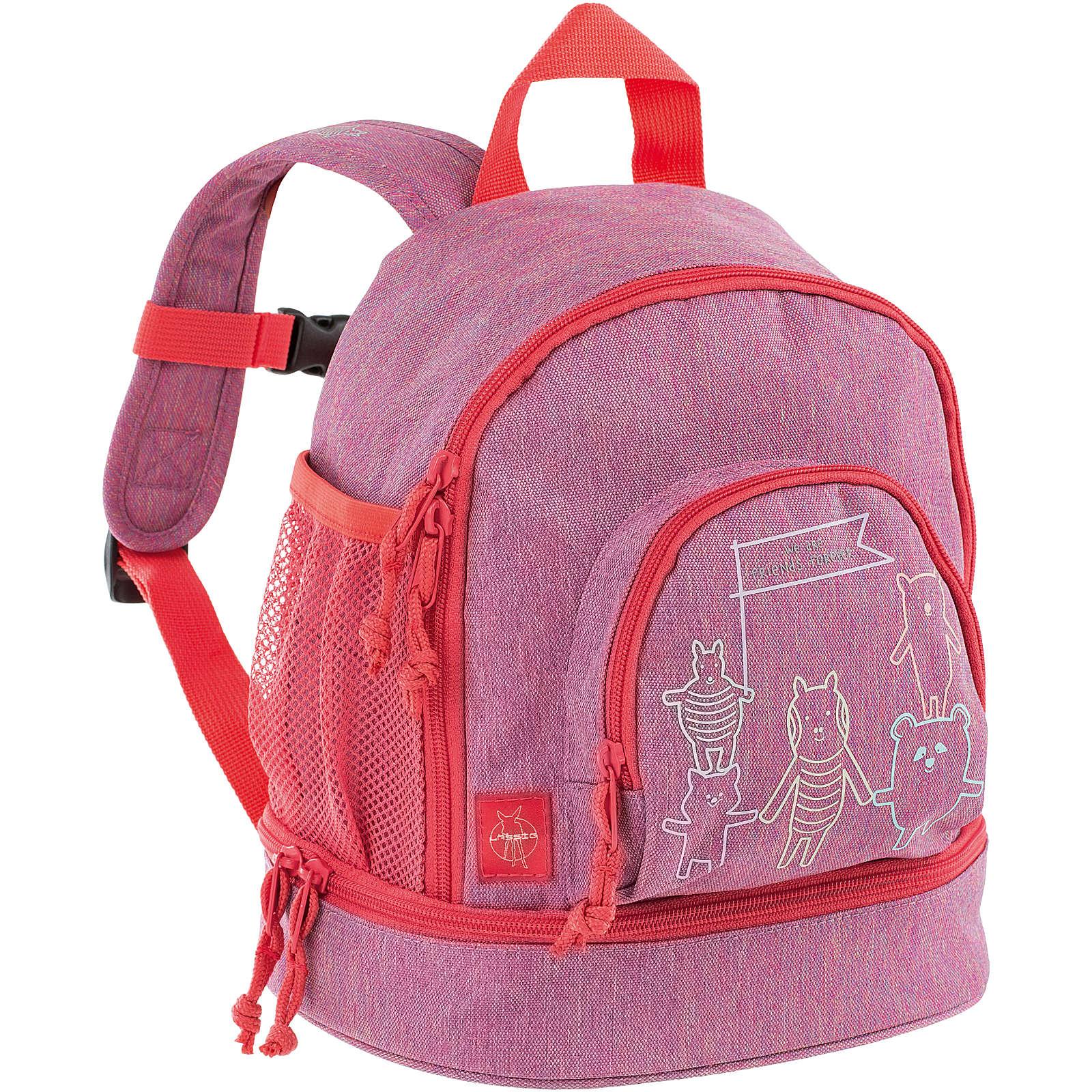 Lässig Kindergarten-Rucksack 4Kids, Mini Backpack, About Friends pink pink Mädchen