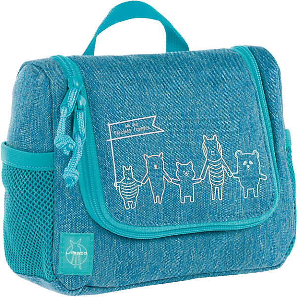 Kulturbeutel 4Kids, Mini Washbag, About Friends blau