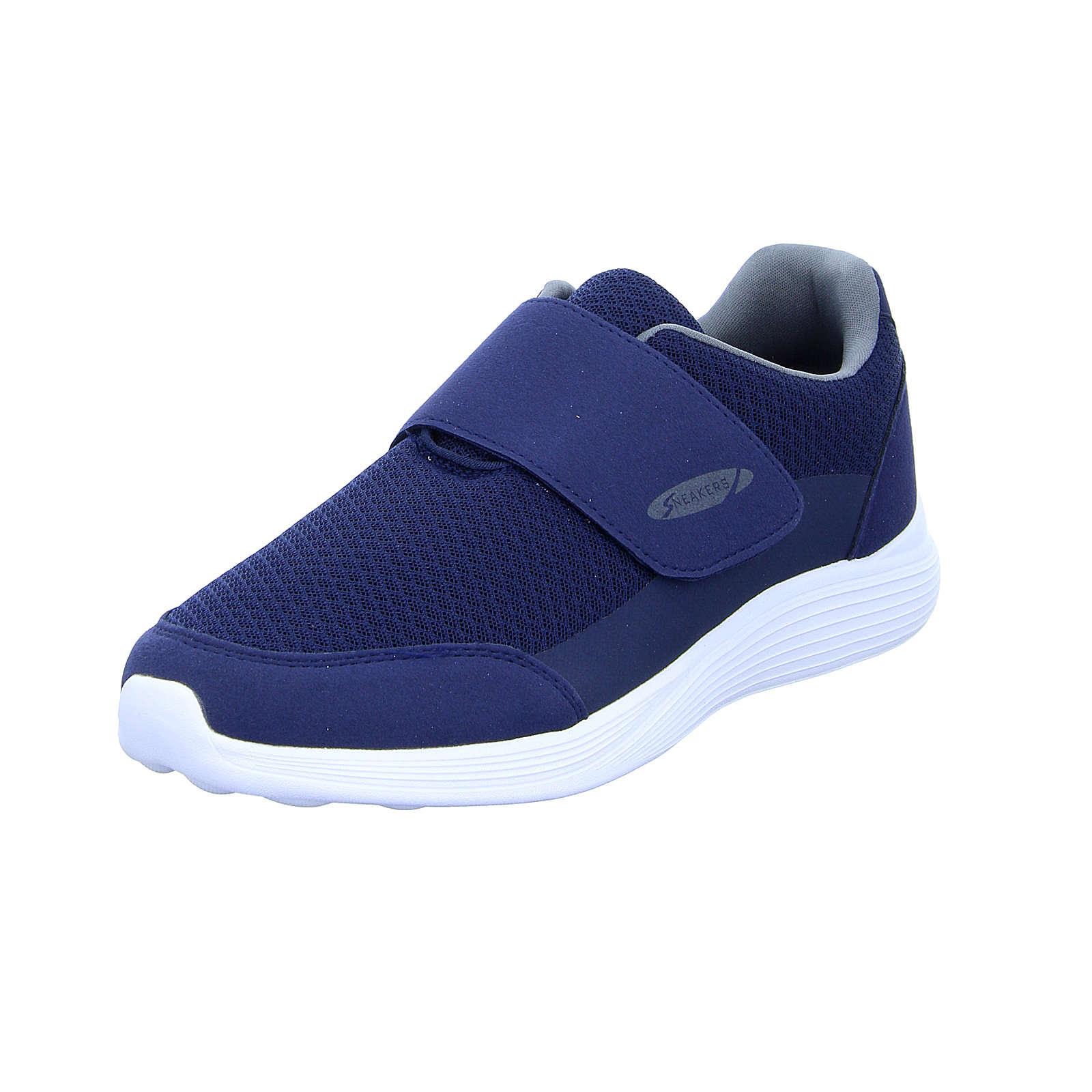 Image of 17-0782-BK Sneakers Low blau Herren Gr. 41