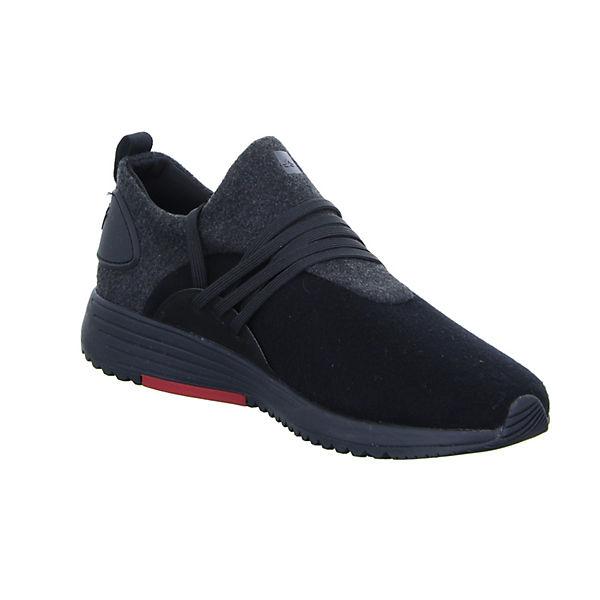 Low Stretch Wavey schwarz Sneakers Delray Project felt Cw1EXaWq
