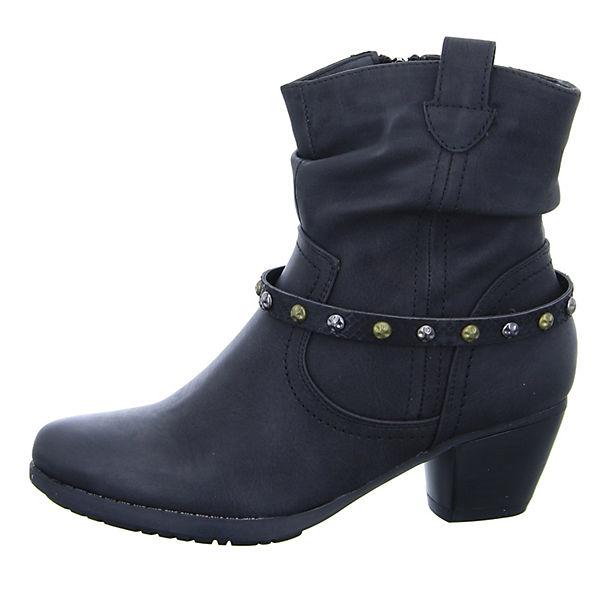 Alyssa, 1288-72-BK Westernstiefeletten, schwarz  Gute Qualität beliebte Schuhe