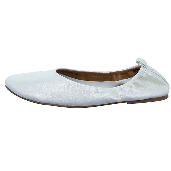 BOXX 81.221 Faltbare Ballerinas silber