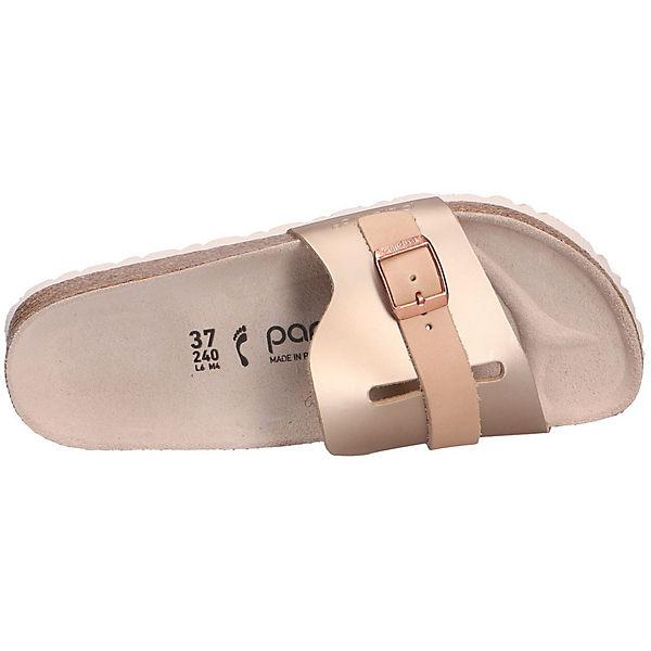 BIRKENSTOCK, Komfort-Pantoletten, beliebte beige  Gute Qualität beliebte Komfort-Pantoletten, Schuhe 0dc4a8