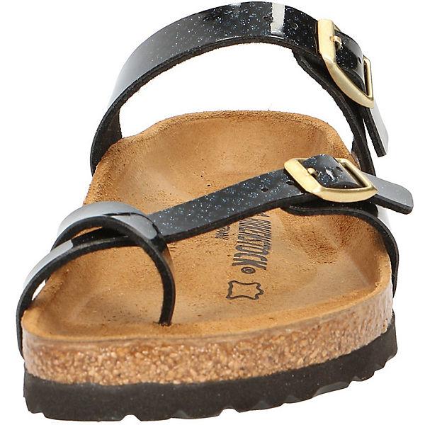 BIRKENSTOCK,  Zehentrenner, schwarz  BIRKENSTOCK, Gute Qualität beliebte Schuhe 673b74