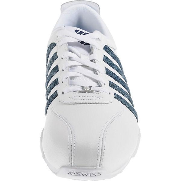K-SWISS Sneakers Low weiß-kombi beliebte  Gute Qualität beliebte weiß-kombi Schuhe 9a79cc