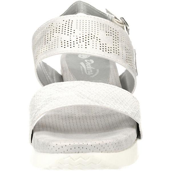 Dockers by Gute Gerli, Klassische Sandalen, grau  Gute by Qualität beliebte Schuhe 6c662e