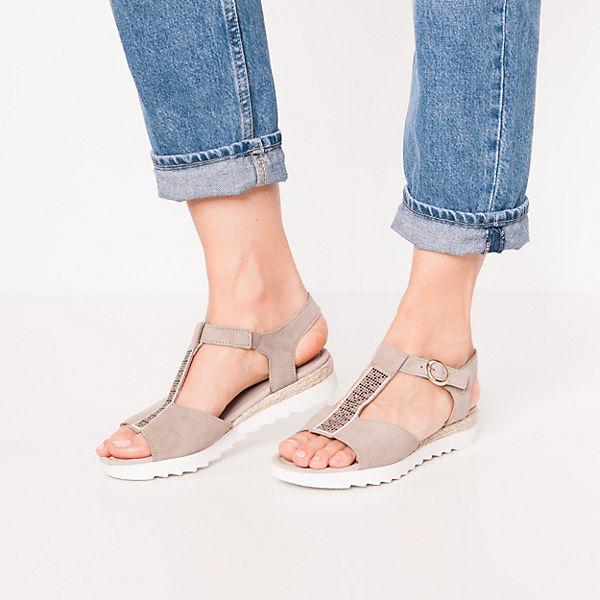 Gabor, Klassische Sandaletten, beige  Gute Qualität beliebte Schuhe