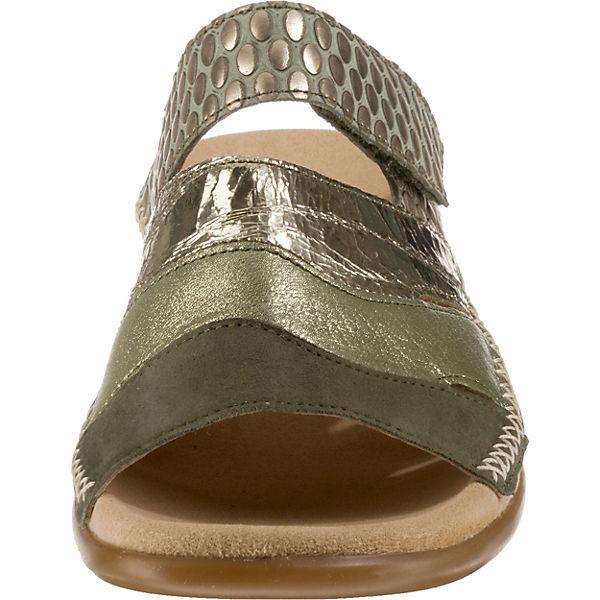 Gabor, Qualität Komfort-Pantoletten, khaki  Gute Qualität Gabor, beliebte Schuhe 6420b5
