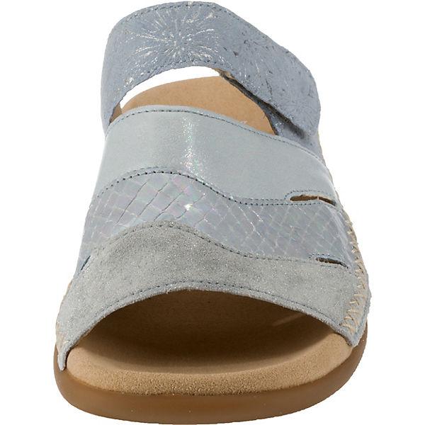 silber silber silber Pantoletten Gabor Gabor Komfort Pantoletten Gabor Komfort Pantoletten Gabor Komfort Komfort xYp7rYqa