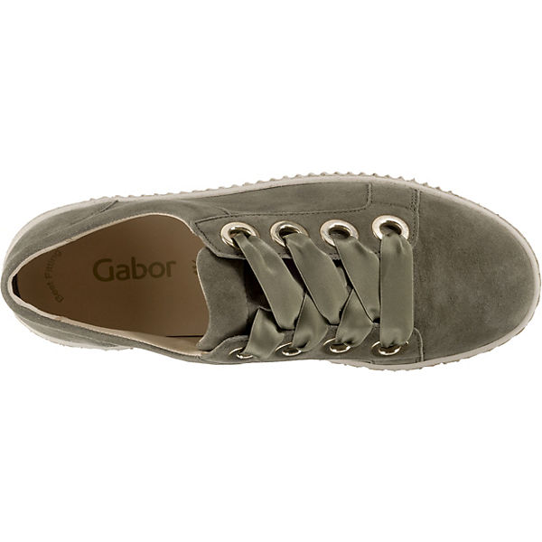 Gabor, Sneakers Niedrig, grün grün grün  Gute Qualität beliebte Schuhe 8921d7