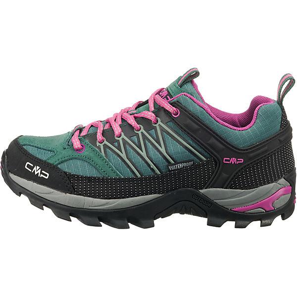 CMP Rigel Low Wanderschuhe grün/pink grün/pink grün/pink  Gute Qualität beliebte Schuhe cfad9c