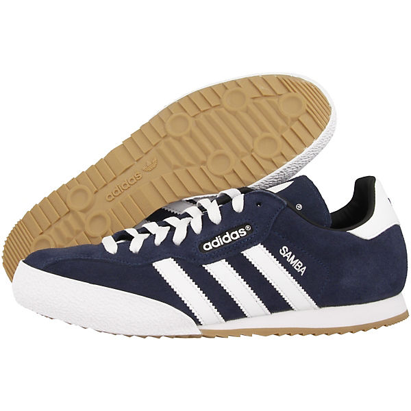 Samba adidas Low Sneakers Originals blau Super FvfqTx5