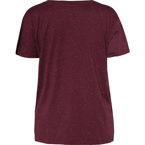 Zizzi Shirt dunkelrot dunkelrot T Shirt T Zizzi OxqfwzTTg