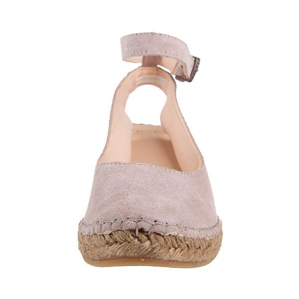 Fred SUEDE de la Bretonière, HEEL SUEDE Fred Keilpumps, rosa  Gute Qualität beliebte Schuhe 6f4545