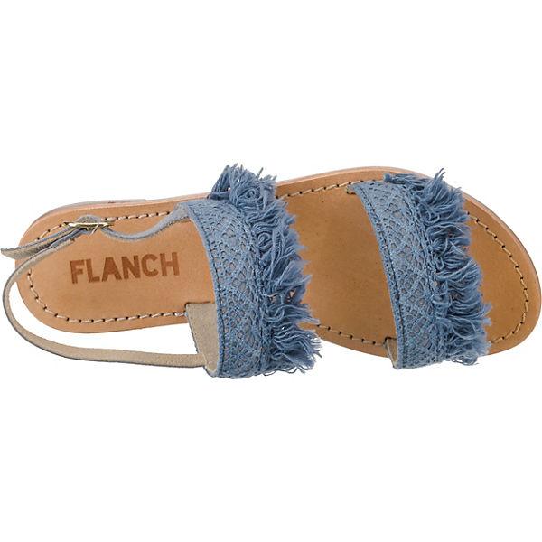 FLANCH Riemchensandalen blau blau Riemchensandalen Riemchensandalen FLANCH FLANCH qIwx4T