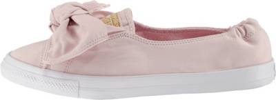 CONVERSE, Chuck Taylor All Star Knot Slip On Sneaker, rosa
