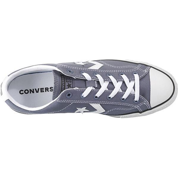 CONVERSE, Star grau Player Ox Sneakers Low, grau Star  Gute Qualität beliebte Schuhe b2fd86