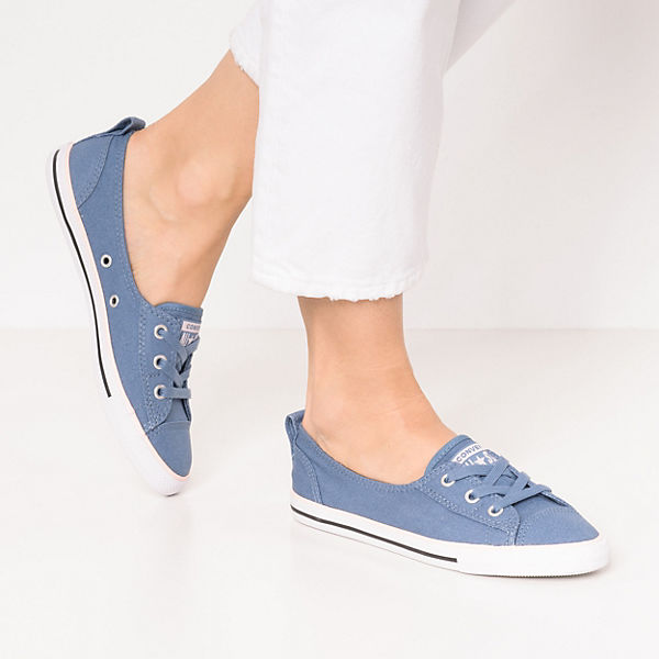 CONVERSE, Chuck Taylor All Star Ballet Lace Sneakers Low, blau-kombi