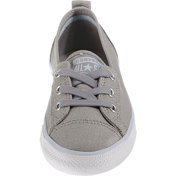 CONVERSE, Chuck Lace Taylor All Star Ballet Lace Chuck Sneakers Low, grau   b17dc6