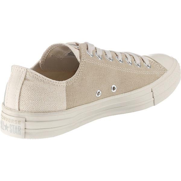 CONVERSE Chuck Taylor Low All Star Ox Sneakers Low Taylor beige  Gute Qualität beliebte Schuhe 931666