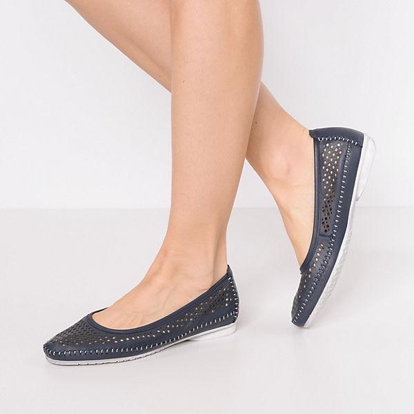 FILIPE, NOBEL Gute Klassische Ballerinas, dunkelblau  Gute NOBEL Qualität beliebte Schuhe 075001