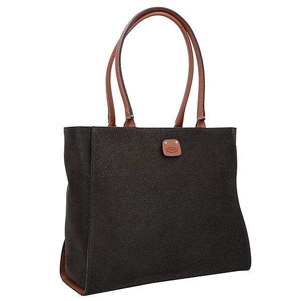Bric's grün Life Handtaschen Handtaschen Life Grau Bric's cl1FKJ