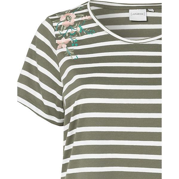 grün Shirt JUNAROSE weiß T T JUNAROSE Shirt P7F4qxR