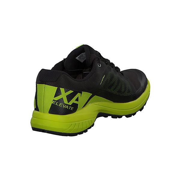 GTX XA ELEVATE grün schwarz 402398 Trailrunningschuhe Salomon vfFx1wqv