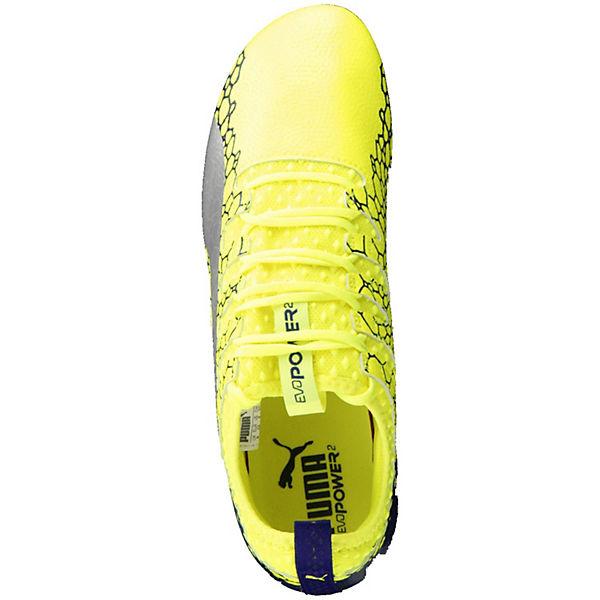 GRAPHIC kombi 104451 FG Vigor 01 PUMA Fußballschuhe evoPOWER gelb 2 qxHFwf4nzt