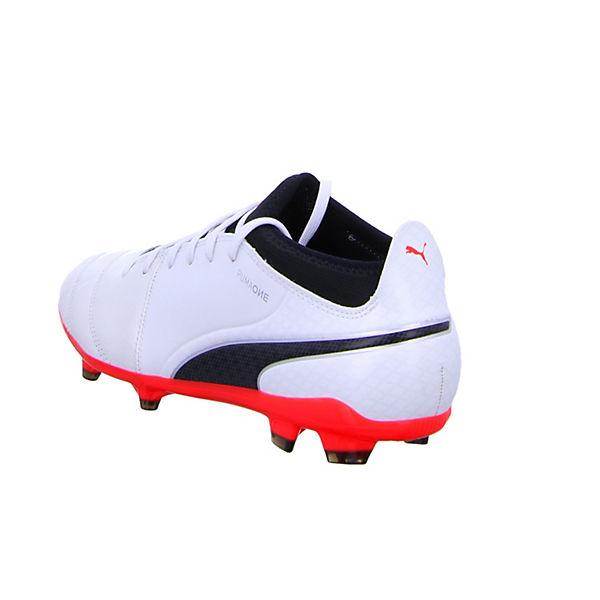 17 weiß Fußballschuhe FG PUMA One 104074 01 3 kombi ZB75Rq