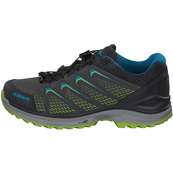 LOWA Maddox GTX Lo 310614-9702 Wanderschuhe grau/grün  Gute Qualität beliebte Schuhe