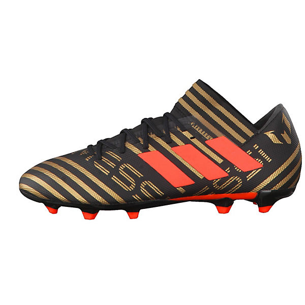 adidas Performance, NEMEZIZ Fußballschuhe,  schwarz/rot  Fußballschuhe,  f0a5e2