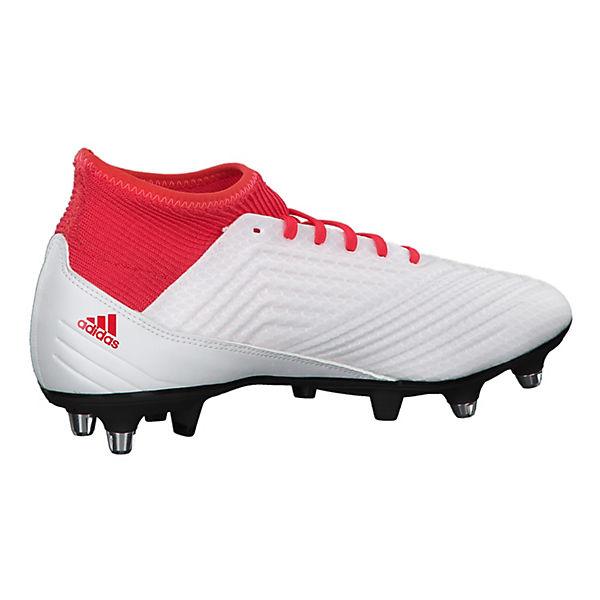 3 Fußballschuhe Performance 18 Predator kombi SG adidas weiß wxtaAXcq