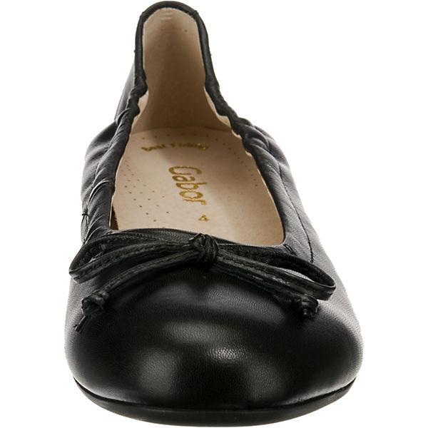 Ballerinas Klassische Gabor schwarz Klassische Gabor qxt88YFEw