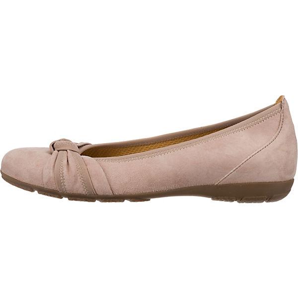 Gabor Klassische Ballerinas Rosa