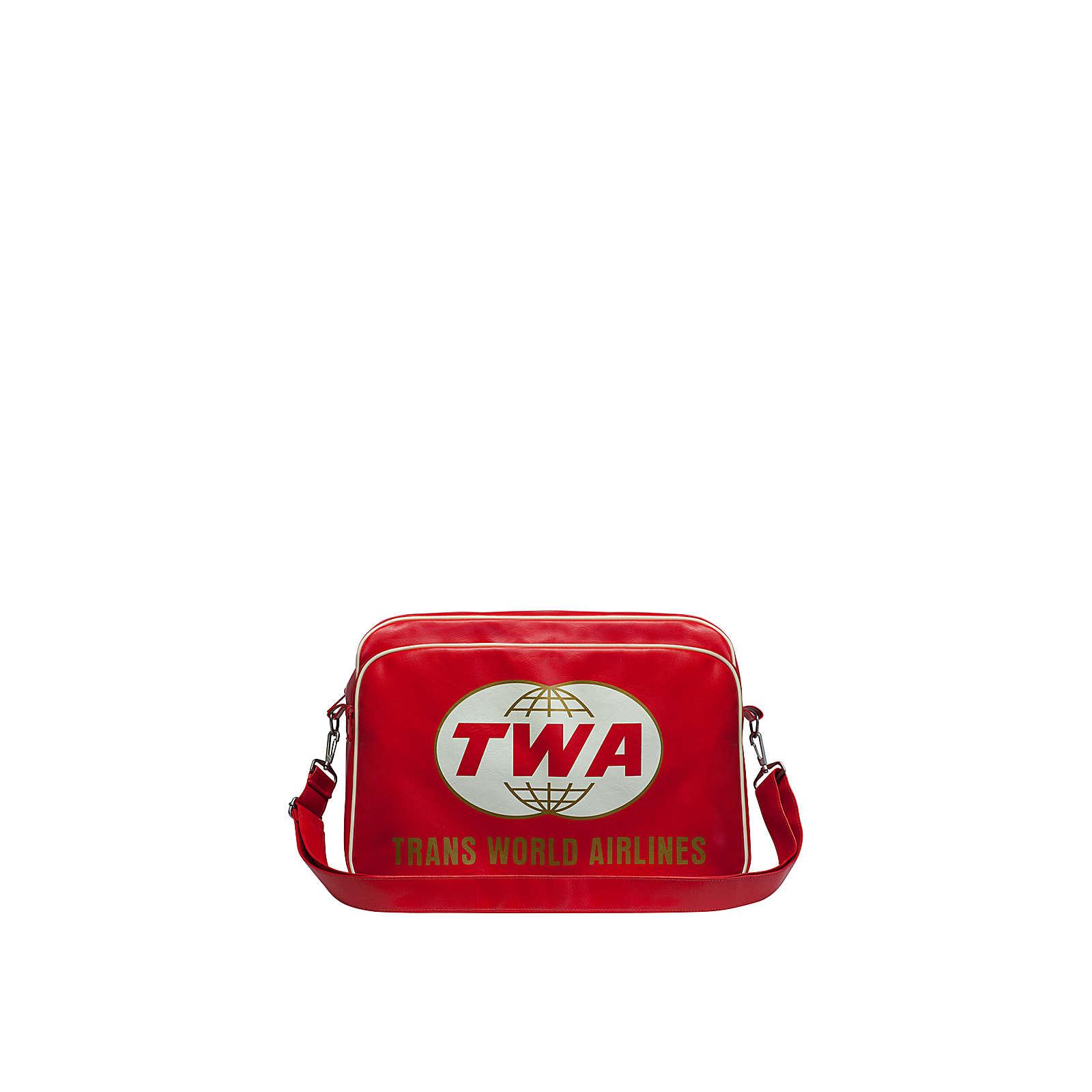 Logoshirt® TWA - Trans World Airlines Umhängeta...