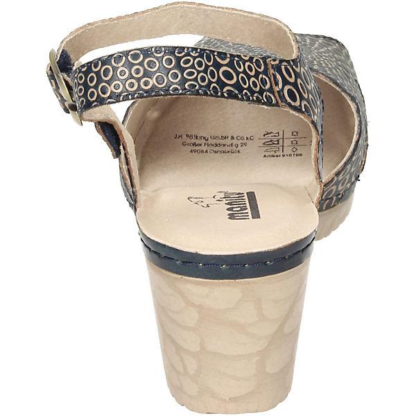 Sandaletten Klassische Manitu blau Manitu Klassische w7tqOx