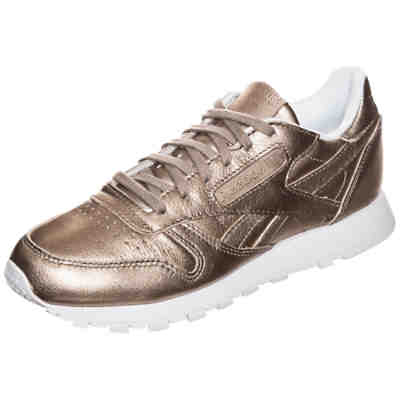 Classic Leather Melted Metal  Sneakers Low