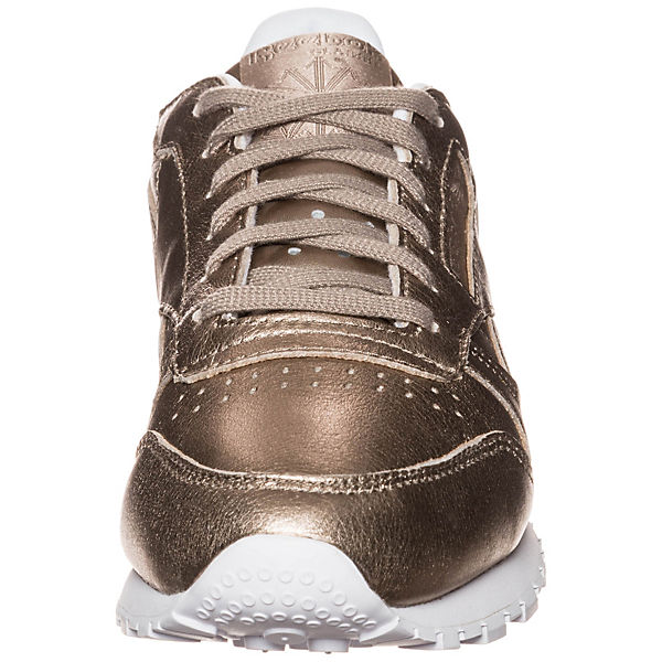 gold Low Leather Classic Classic Reebok Sneakers Melted Metal qA8U4x