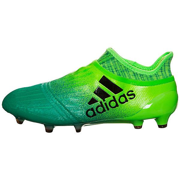 adidas Performance, X 16+ Purechaos FG    Fußballschuhe, grün  FG Gute Qualität beliebte Schuhe beef5c