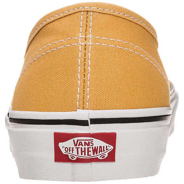 Skaterschuhe Authentic gelb weiß VANS VANS Authentic gelb Skaterschuhe VANS Authentic Skaterschuhe gelb weiß weiß Authentic VANS 16rOrWnt
