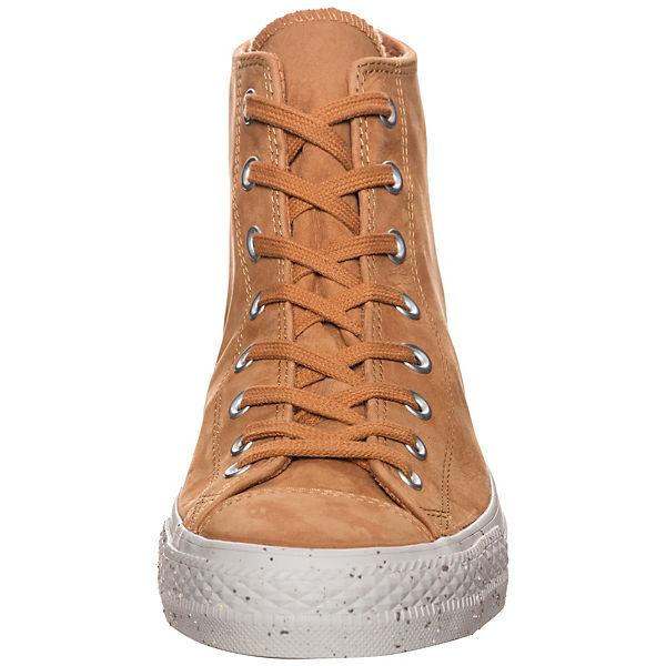 CONVERSE, Chuck Taylor All Star    Sneakers High, braun    24ab8f