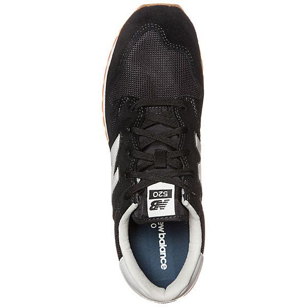 Sneakers schwarz new Low balance U520 RnwAqEU41