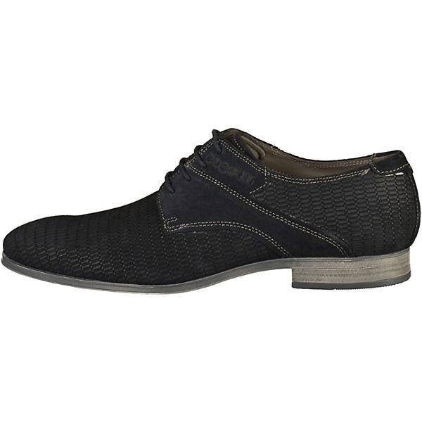bugatti, Business-Schnürschuhe, dunkelblau  Gute Qualität beliebte Schuhe