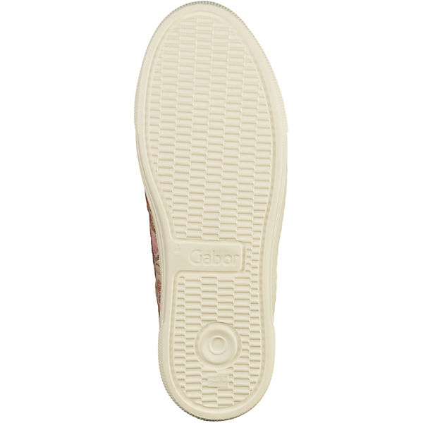 Gabor, Sneakers Sneakers Gabor, Low, beige   7383ec