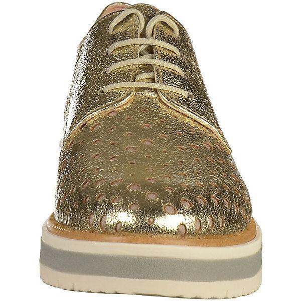 Tamaris, Schnürschuhe, gold Qualität  Gute Qualität gold beliebte Schuhe 498d9c