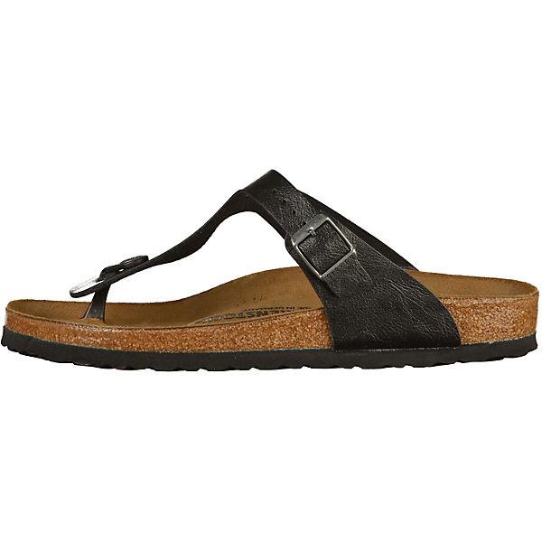 BIRKENSTOCK Gizeh Komfort-Pantoletten schwarz  Gute Qualität beliebte Schuhe