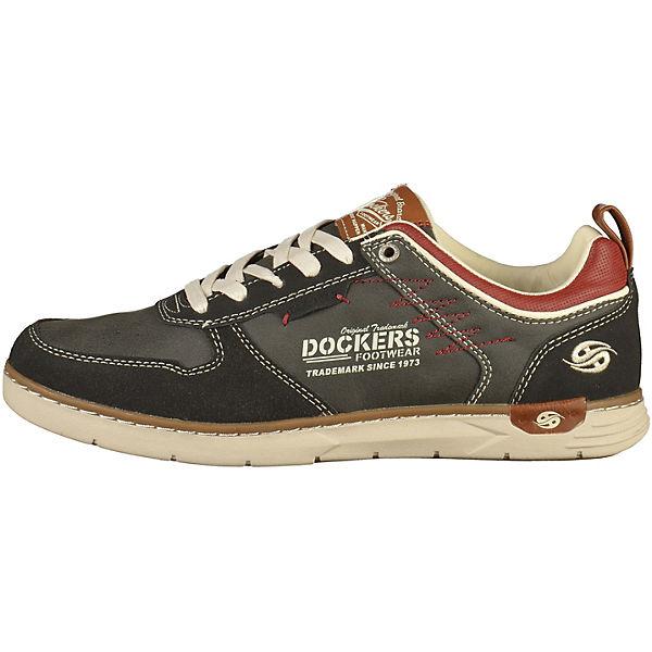 Dockers by Gerli, Schnürschuhe, schwarz  Gute Qualität beliebte Schuhe